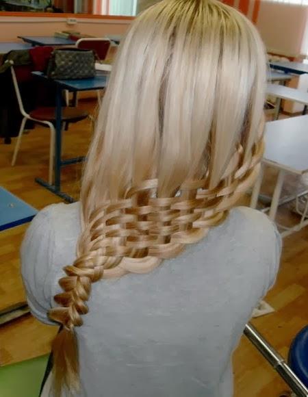 Чем смазать волосы перед плетением