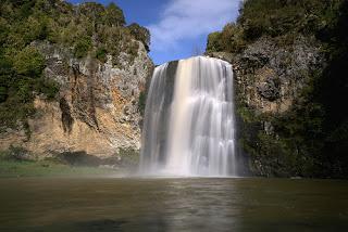 NZ HUNUA FALLS
