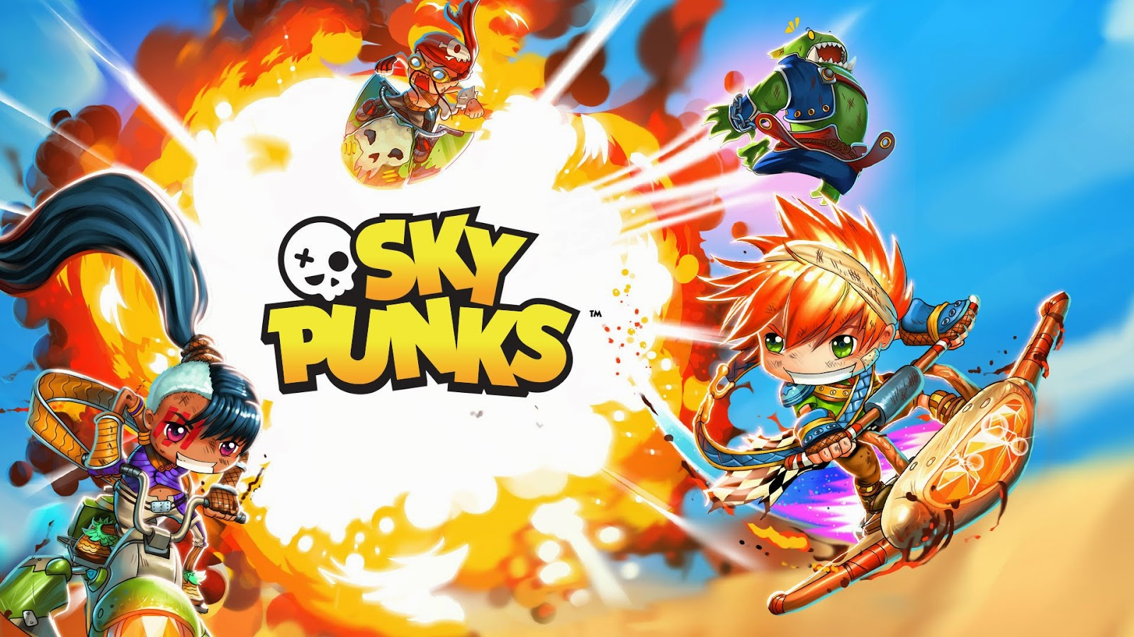 Sky Punks Gameplay IOS / Android