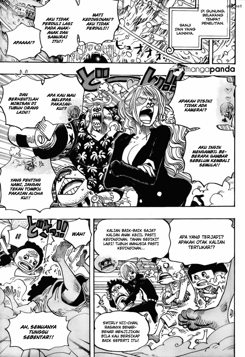 one piece Online 663 manga page 10