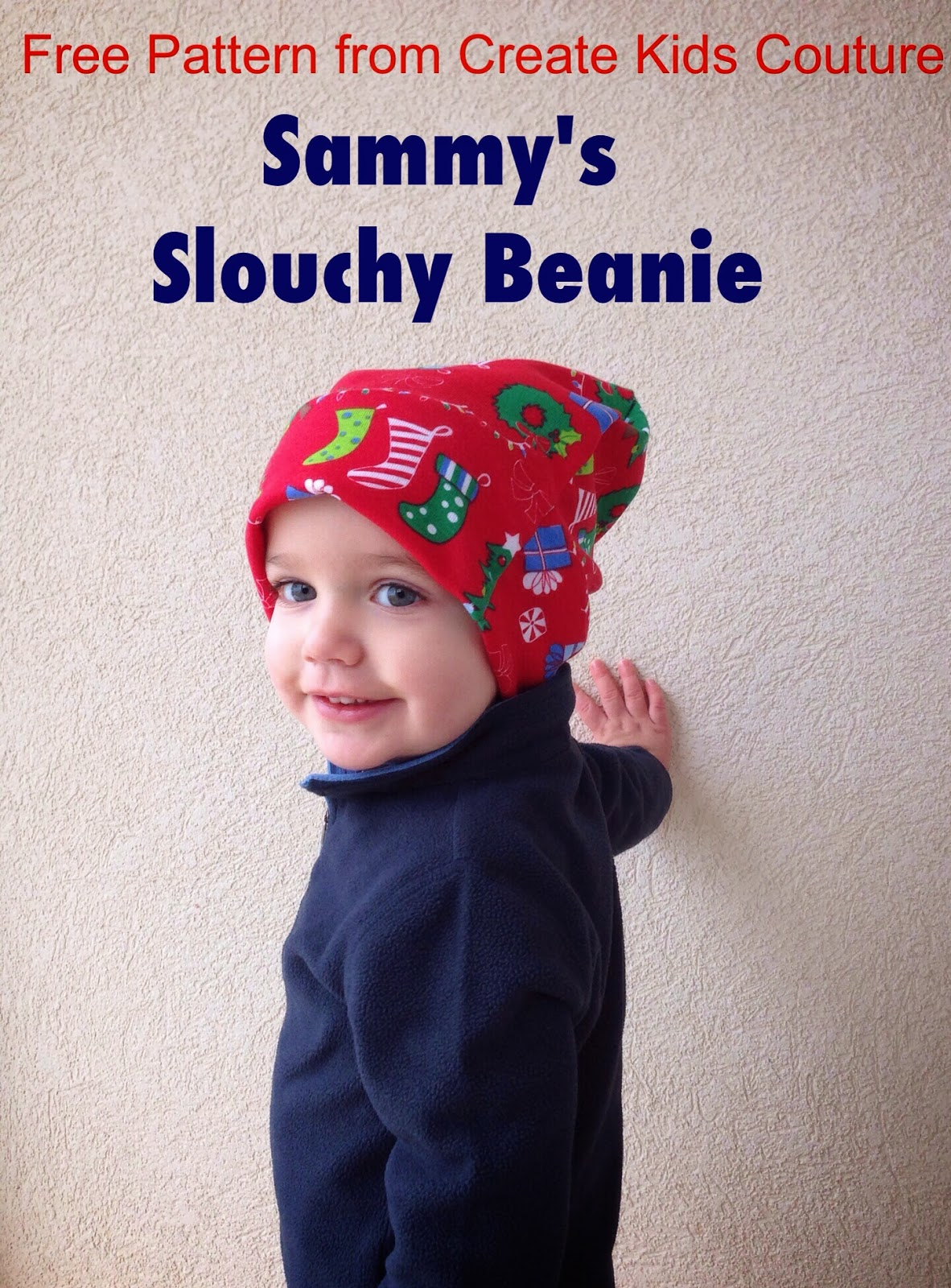 Create Kids Couture: Free Pattern: Sammy\'s Slouchy Beanie