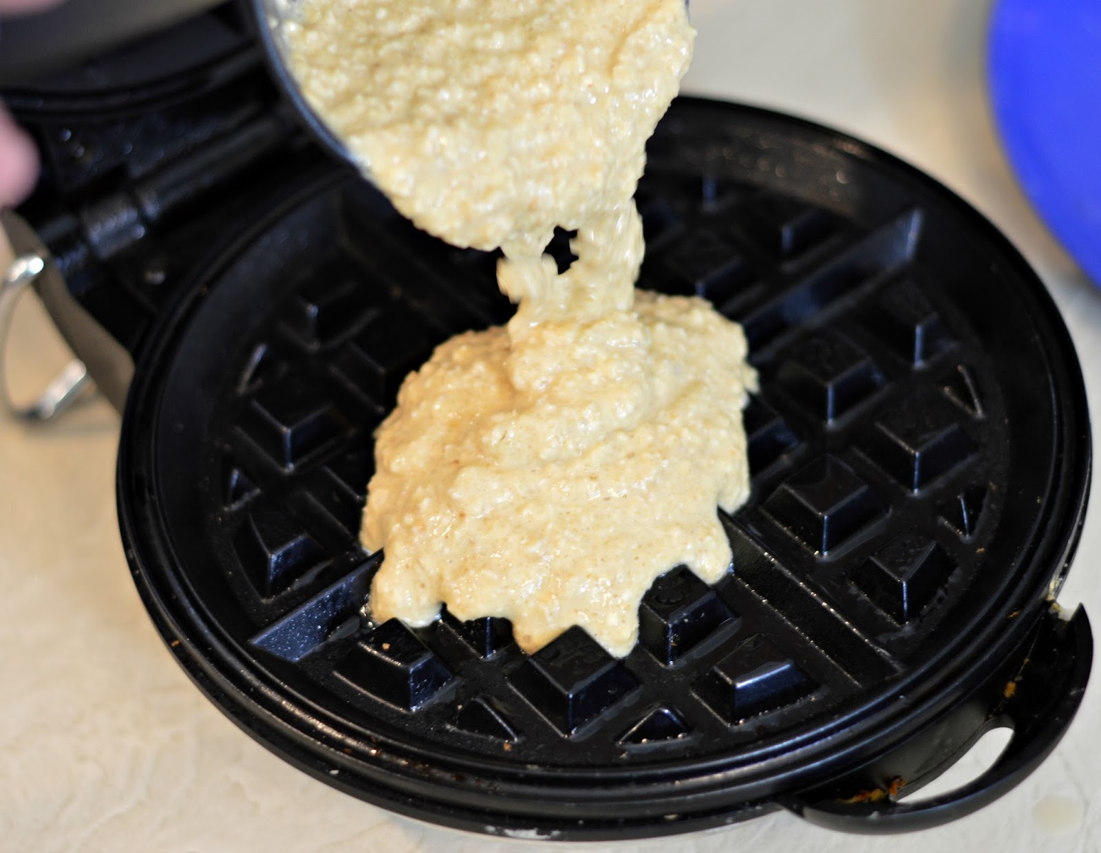 pictures Oatmeal Cottage Cheese Waffle Recipe