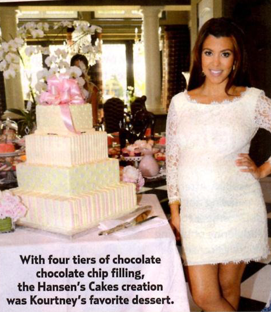 Exceptional Looks Like We Made The Pages Of US Weekly Again, This Time Featuring The  Custom Gift Box Cake We Made For Kourtney Kardashianu0027s Baby Shower.
