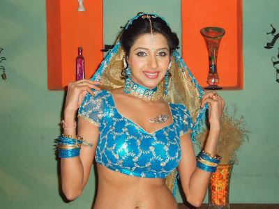 Actress Sadhika Randhawa in Hot Blouse Still