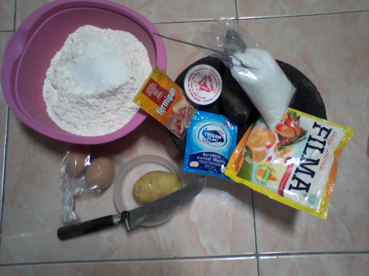 sp bahan roti
