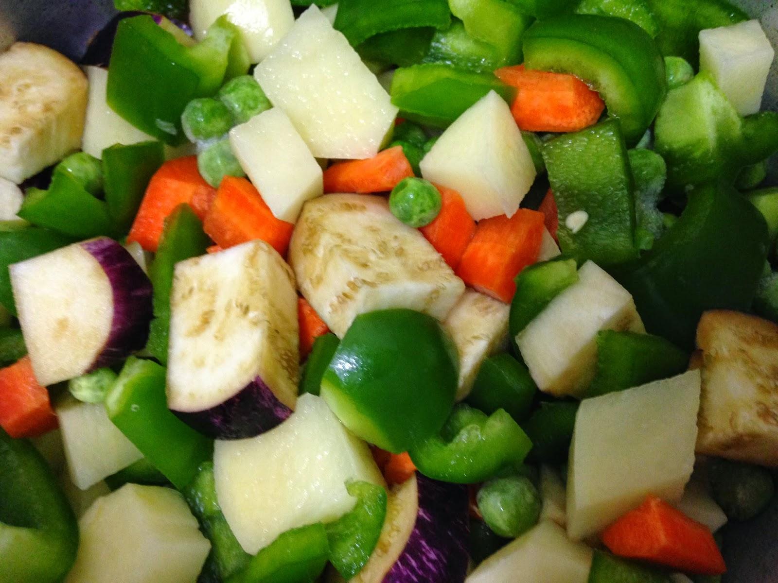 pav bhaji mixed vegtables