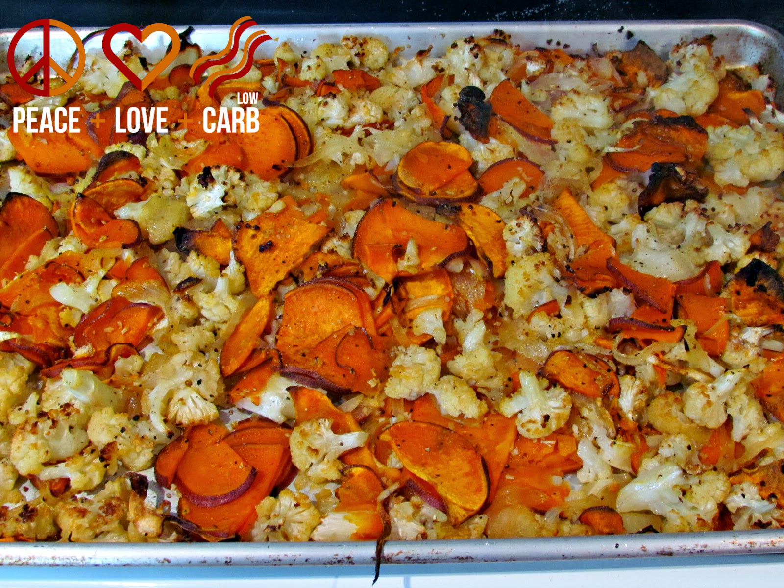 Roasted Cauliflower and Sweet Potato Puree – Low Carb, Gluten Free