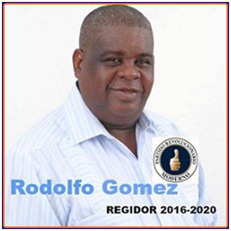 REGIDOR PRM SANTA CRUZ DE BARAHONA 2016-2020