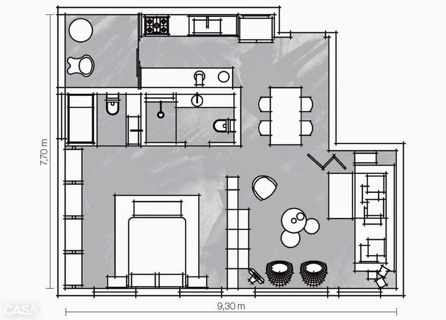 amenajari, interioare, decoratiuni, decor, design interior, plan apartament, 2 camere