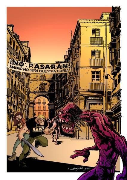 Finado y sus zombis homenajean a la II República Española