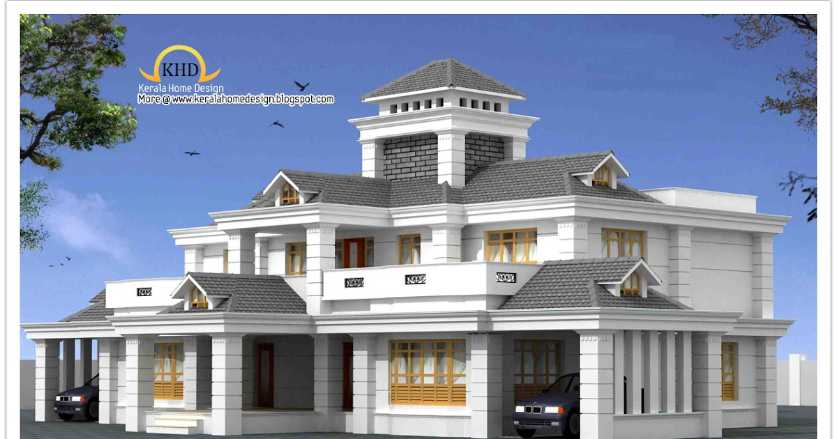 Luxury Home Design Elevation 5050 Sq Ft Home Appliance