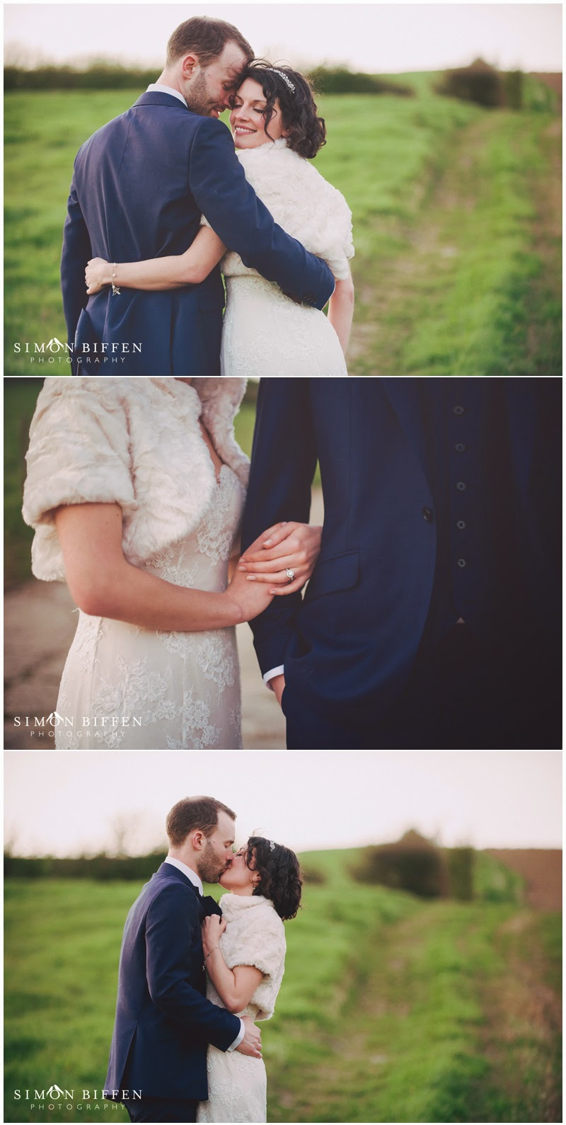 Bride and Groom dusk portraits at Priston Mill wedding
