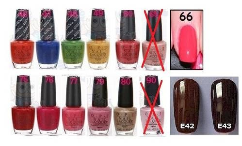 Feasible New Names for that Kardashian/OPI Toe nail Polish Selection ...
