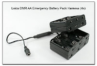 Leica DMR AA Emergency Battery Pack Harness (4x)