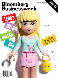 Skewed - photoshopped image of LEGO Friends