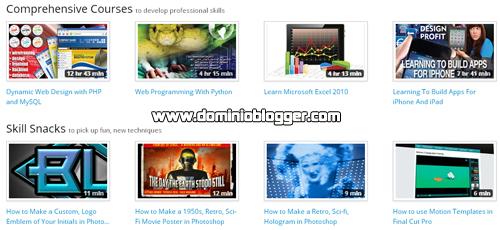 tutoriales y materiales educativos gratis en Skillfeed