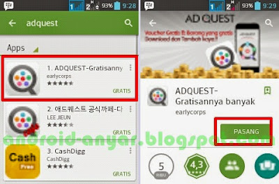 Download AdQuest Android .APK Terbaru