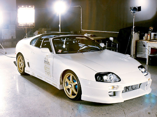 Katha Pollitt Toyota Supra White