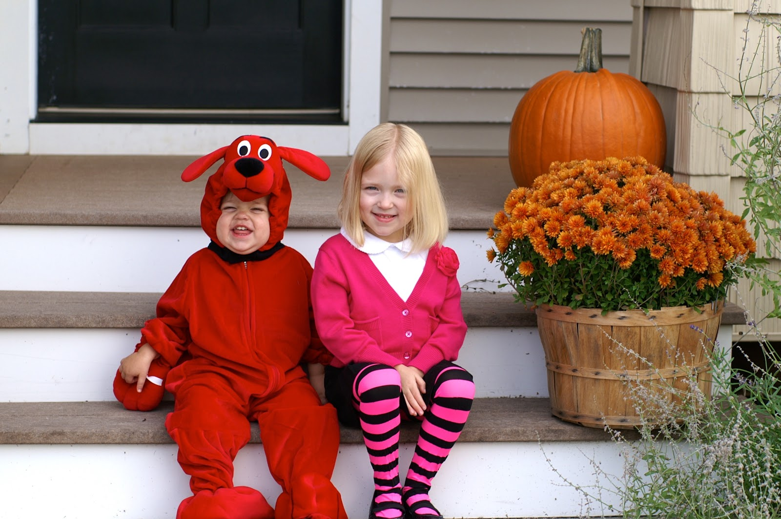 were the family from clifford the big red dog books the kids had so much fun with it and loved when brett and i dressed up like mr and mrs howard - Clifford The Big Red Dog Halloween Costume