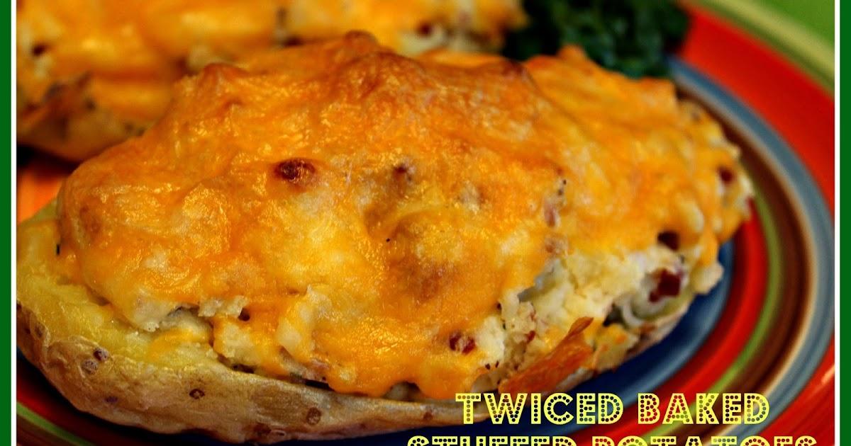 Sweet Tea and Cornbread: Twiced Baked Stuffed Potatoes!