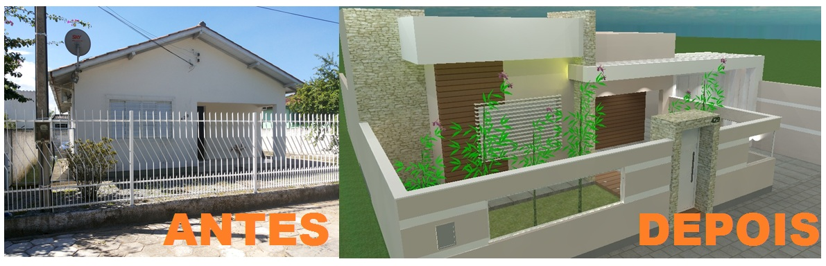 Reforma fachada resid ncia la arquitetura - Programas de reformas de casas ...
