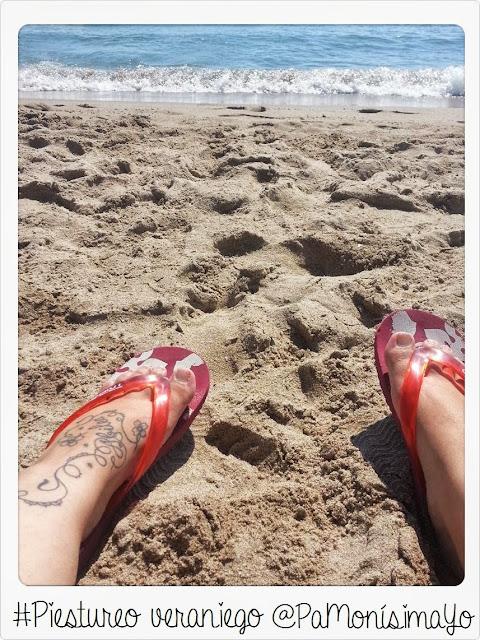 Piestureo veraniego playa El Campello