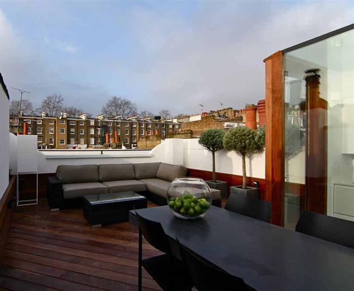 Casas minimalistas y modernas terrazas minimalistas i for Techos para terrazas minimalistas