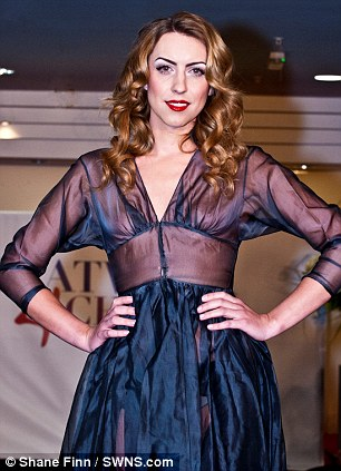 transgender catwalk model Nicole Gibson www.gandeyworld.com