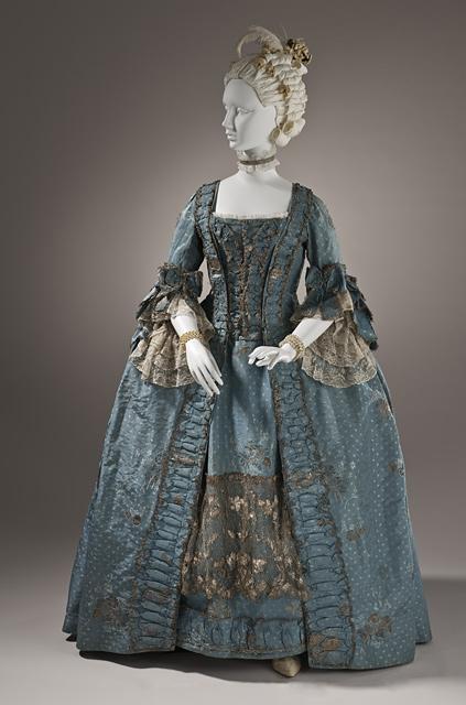18th Century - Robe a la Francais  - Marie Antoinette Costume - HandBound Costumes