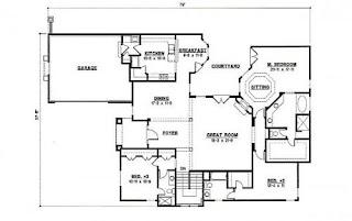 Planos de casas modelos y dise os de casas agosto 2012 - Planos de casas de 100 metros cuadrados ...