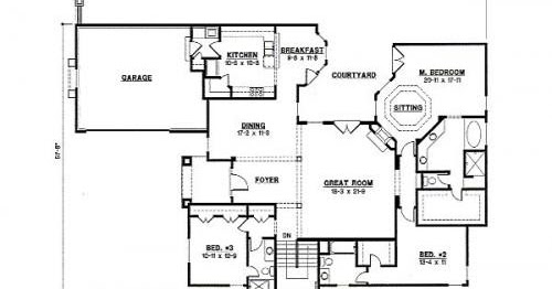 Planos de casas modelos y dise os de casas planos de for Planos de cocinas de 6 metros cuadrados