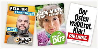 Elections Allemagne - Parti Pirate, les verts, les communistes
