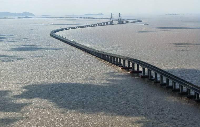 Danyang-Kunshan Grand-Bridge - jembatan terpanjang di dunia