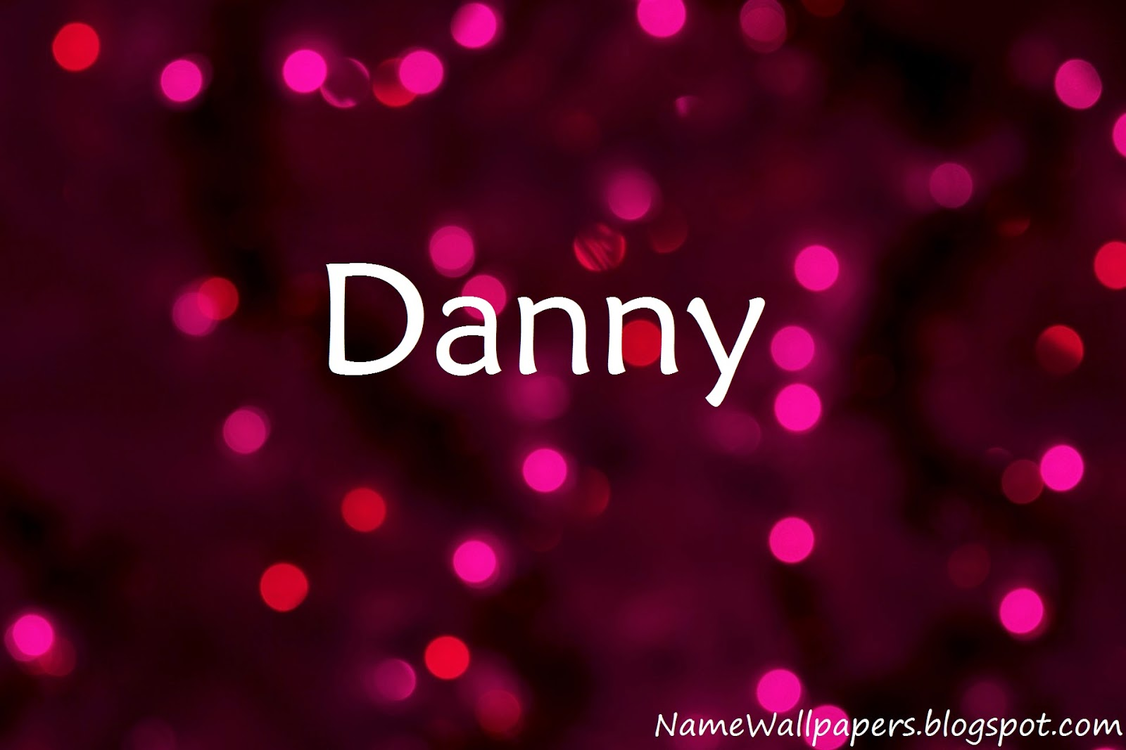 Danny Name Wallpaper