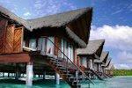 Cabañas en las Islas Maldivas