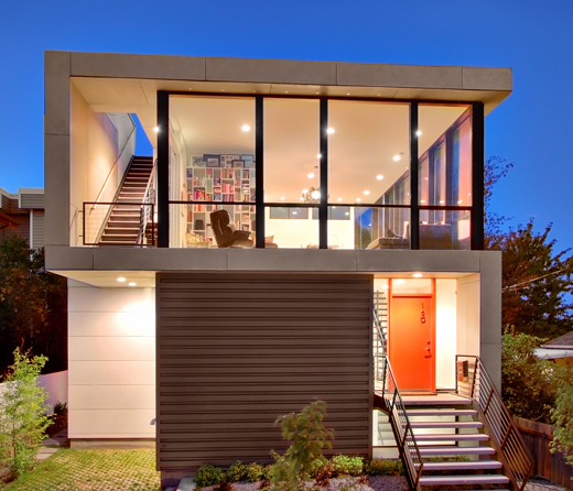 Simple modern homes modern home designs for Contemporary best small modern house designs