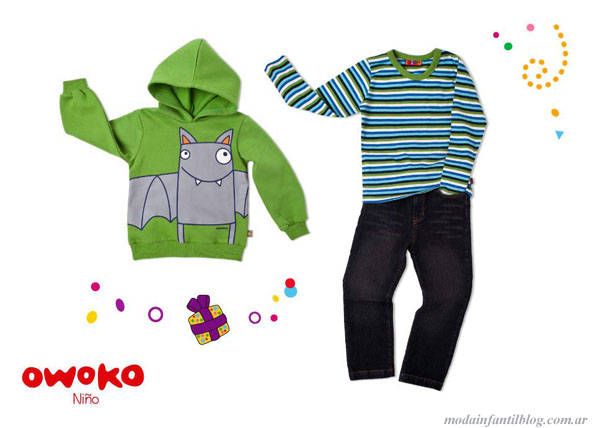 owoko invierno 2013 indumentaria infantil