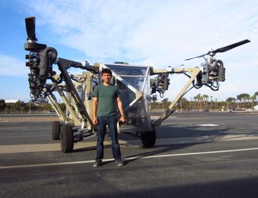 multicopter tripulado