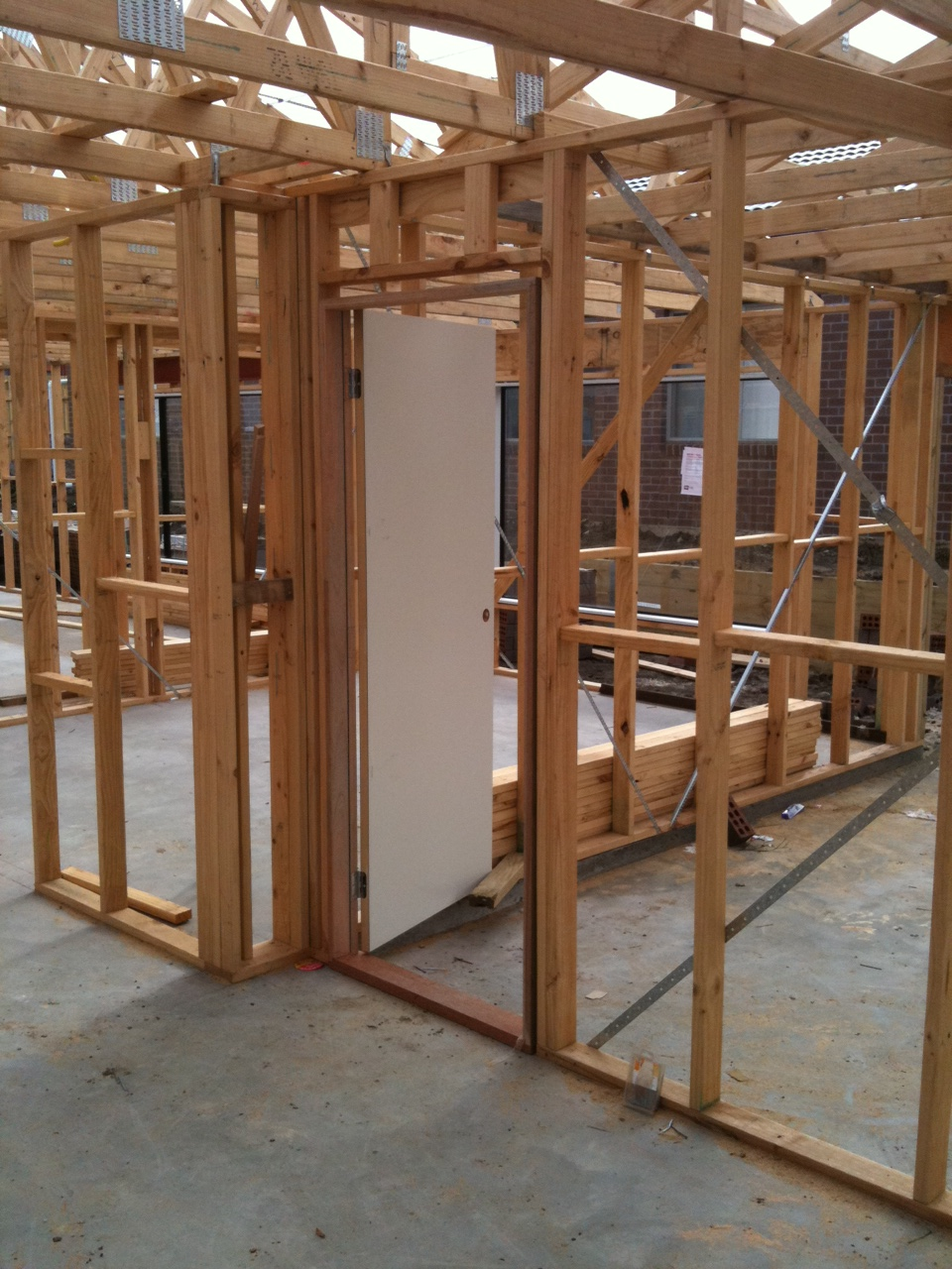 how to build roof trusses for a garage