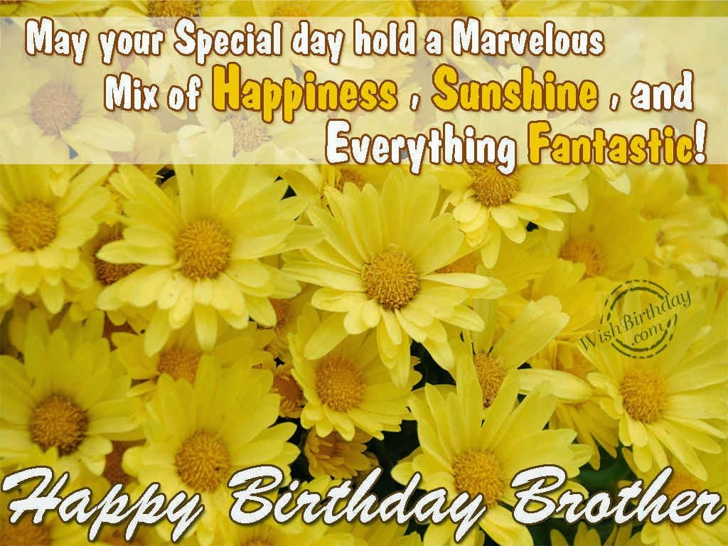 All Stuff Zone Birthday Wishes For Brother