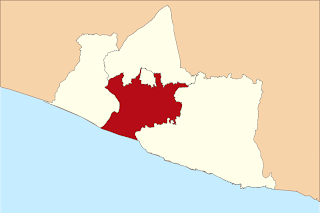 Peta Wilayah Kabupaten Bantul DI Yogyakarta