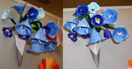 Make easy art and craft ideas make easy art and craft ideas fold origami flower 3d mightylinksfo