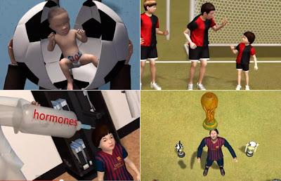 La vida de Messi es llevada a los dibujos animados