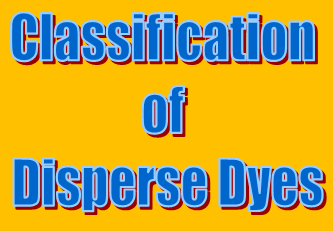Classification of Disperse Dyes