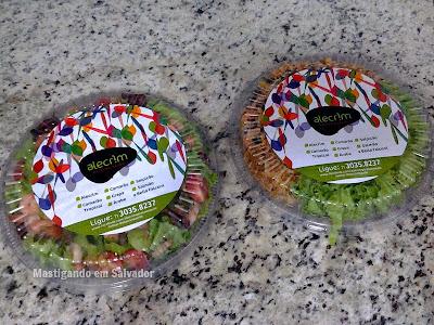 Alecrim Delivery: Saladas