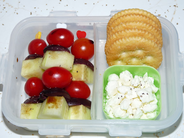 greek kalamata bento snack