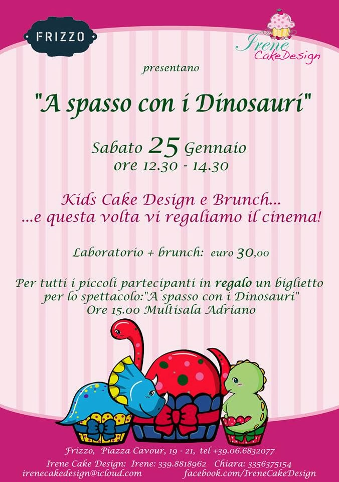 BAMBINI di ROMA : BRUNCH + CAKE DESIGN + CINEMA