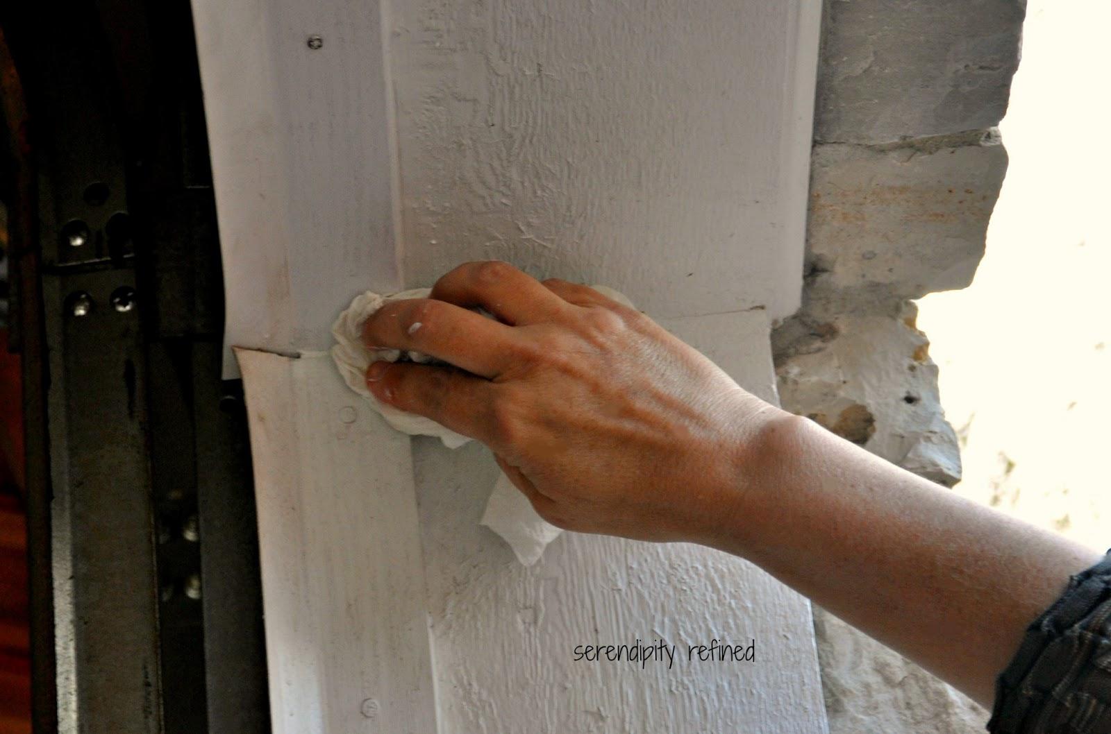 Serendipity refined blog how to replace a garage door weather seal diy home maintenance garage door weather seal replacement fix rubansaba
