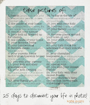 25-Day Photo Challenge