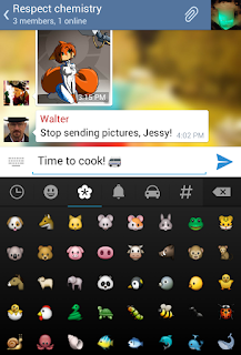 aplikasi chatting baru - telegram